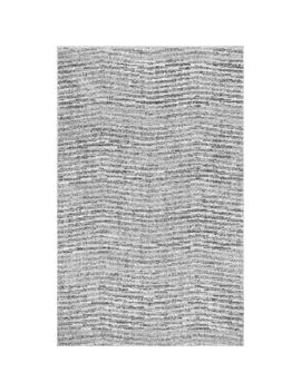 Sherill Grey 8 Ft. X 8 Ft. Square Rug by Nu Loom
