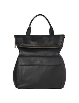 Whistles Verity Large Leather Backpack, Black by Whistles