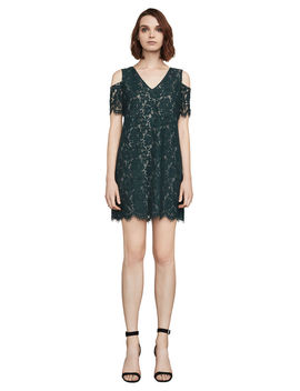 Celestia Cold Shoulder Lace Dress by Bcbgmaxazria