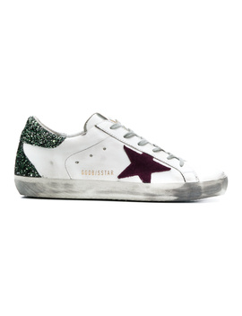 Golden Goose Women's G33ws590h68 White Leather Sneakers by Golden Goose