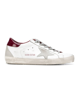 Golden Goose Women's G33ws590h19 White Leather Sneakers by Golden Goose