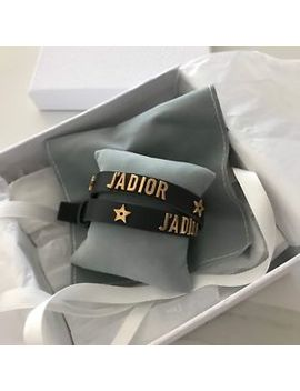 Christian Dior J'adior Double Leather Bracelet by Dior
