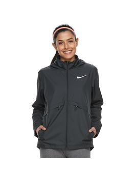 Women's Nike Essential Hooded Running Jacket by Kohl's