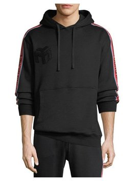 Logo Side Stripe Pullover Hoodie by Young Money