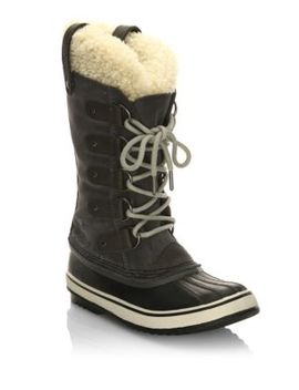 Joan Of Artic Suede And Shearling Winter Boots by Sorel