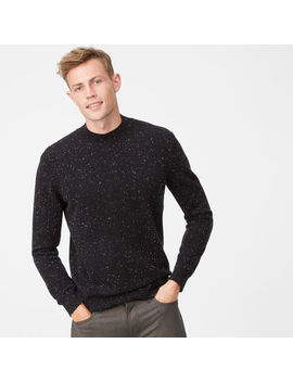 Cashmere Donegal Mockneck by Club Monaco
