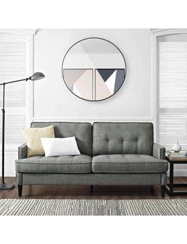 Dorel Living Marley Sofa, Gray by Dorel Living