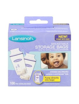 Lansinoh Breastmilk Storage Bags   100 Ct by Lansinoh