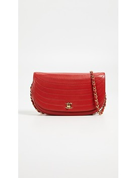 Chanel Lambskin Shoulder Bag by What Goes Around Comes Around