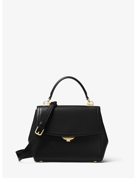 Ava Small Leather Satchel by Michael Michael Kors