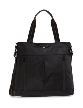 Reflective Nylon Tote Bag by Zella