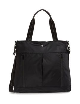 Reflective Nylon Tote Bag by Zella