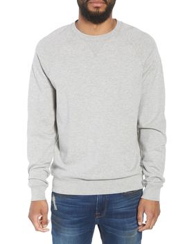 Pc Raglan Slim Fit Cotton Crewneck Sweatshirt by Frame