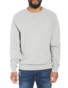 Pc Raglan Slim Fit Cotton Crewneck Sweatshirt by Frame
