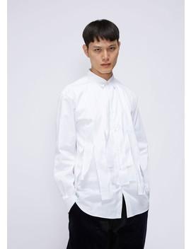Poplin Strip Shirt by Comme Des Garcons Shirt