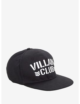 New Japan Pro Wrestling Villain Club Black Snapback Hat by Hot Topic