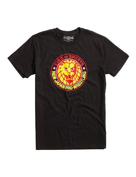 New Japan Pro Wrestling Lion Mark Logo T Shirt by Hot Topic