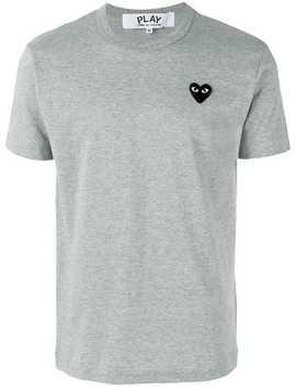 Comme Des Garçons Playheart Patch T Shirthome Men Comme Des Garçons Play Clothing T Shirts by Comme Des Garçons Play