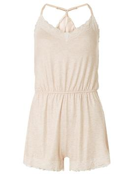 Blush Loungewear Playsuit by Dorothy Perkins