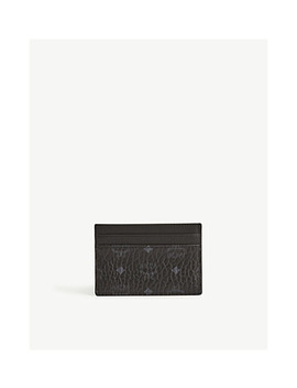 Coated Canvas Card Holder by Mcm