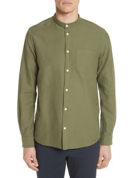 Hans Oxford Ripstop Band Collar Shirt by Norse Projects