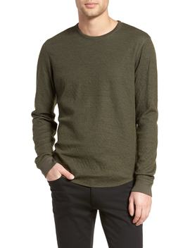 Double Knit Long Sleeve Shirt by Vince