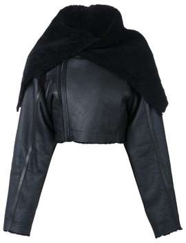 Cropped Jacket by Rick Owens