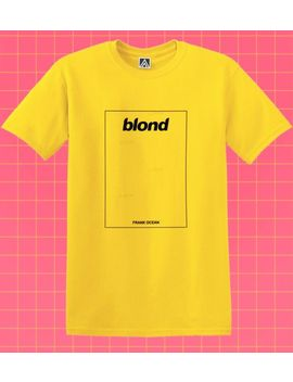 Blond T Shirt Boys Don't Cry Ocean Tee Frank Orange Blonde Ivy Music Nikes Top by Ebay Seller