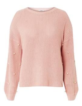 **Only Pink Pearl Jumper by Dorothy Perkins