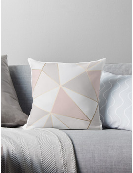 Geometric Pink Gold by Elyse Blais