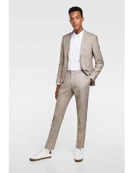 Textured Weave Shirt  Plain Shirts Man by Zara