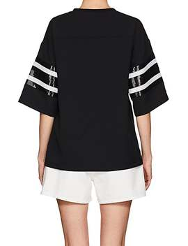 Sequined Jersey T Shirt by Cynthia Rowley
