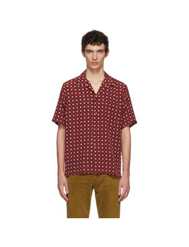 Chemise Rouge Camper by Saint Laurent