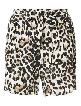Leopard Print Shorts by Dorothy Perkins
