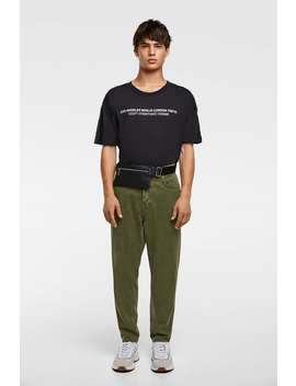 Jeans BÁsicas Essentials Relaxed  Streethomem by Zara