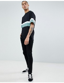 D Struct Cut And Sew Peached T Shirt by T Shirt
