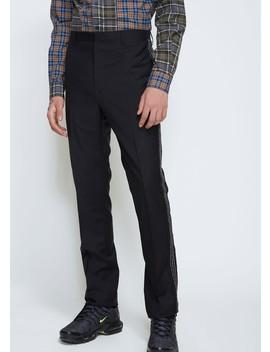 Side Pleat Jacquard Ribbon Trouser by Lanvin