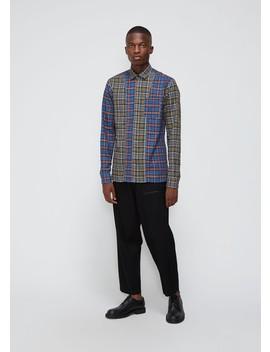 Combo Plaid Shirt by Lanvin