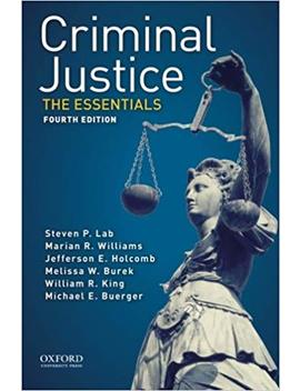 Criminal Justice: The Essentials by Amazon