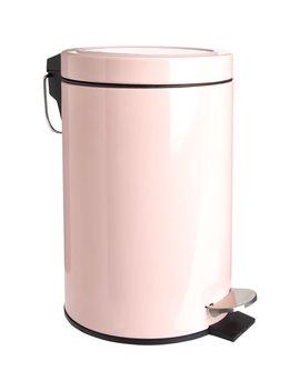 Wilko Pedal Bin Pink by Wilko