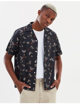 Canty Lacquer Butterfly Shirt by Saturdays Nyc