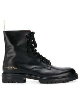 Common Projects Combat Boots Home Uomo Common Projects Scarpe Stivali by Common Projects