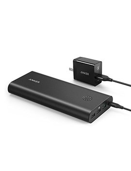 Anker Power Core+ 26800, Premium Portable Charger, High Capacity 26800m Ah External Battery With Qualcomm Quick Charge 3.0 (In  And Output), Includes Power Port+ 1 Wall Charger by Amazon
