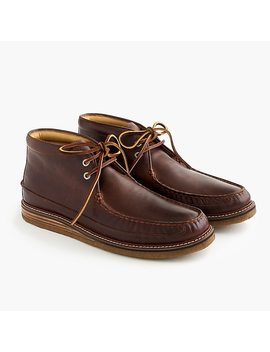 Sperry® Gold Cup Crepe Soled Leather Chukka Boots by Sperry