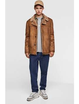 Double  Sided Threequarter Length Coat View All Jackets Man by Zara
