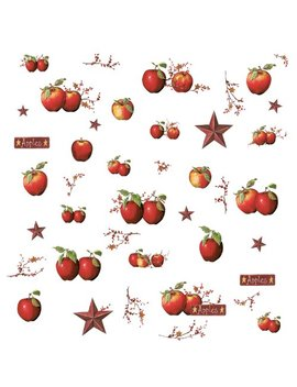 Roommates Rmk1570 Scs Country Apples Peel & Stick Wall Decals by Room Mates