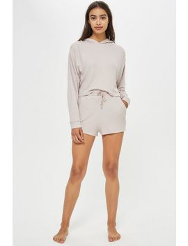 Super Soft Waffle Lounge Shorts by Topshop