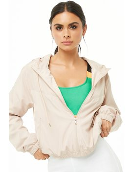 Active Zip Up Windbreaker by Forever 21