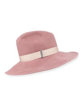 drake-wool-wide-brim-fedora-hat by gigi-burris