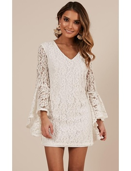 Love In Ruins Dress In White Lace by Showpo Fashion